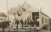 Fred Meinke Saloon & Lunch Room (around 1905)